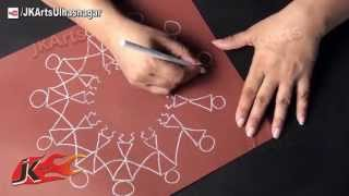 Warli Painting / Warli Art (Basic Drawing Form)  - JK Arts 546