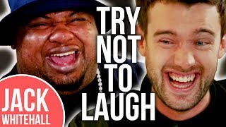Big Narstie Completely LOSES IT with Jack Whitehall! | No Laugh Challenge