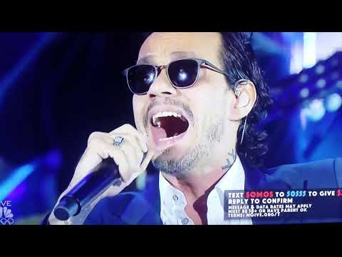 Mark Anthony live ! Somosunavoz..concert