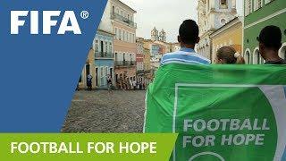 Football for Hope focused on Brazil 2014 thumbnail