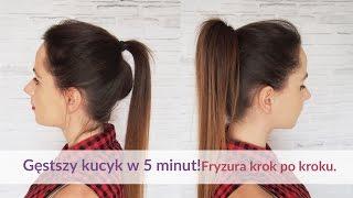 Sposób na gęstszego kucyka krok po kroku- Hair by Jul