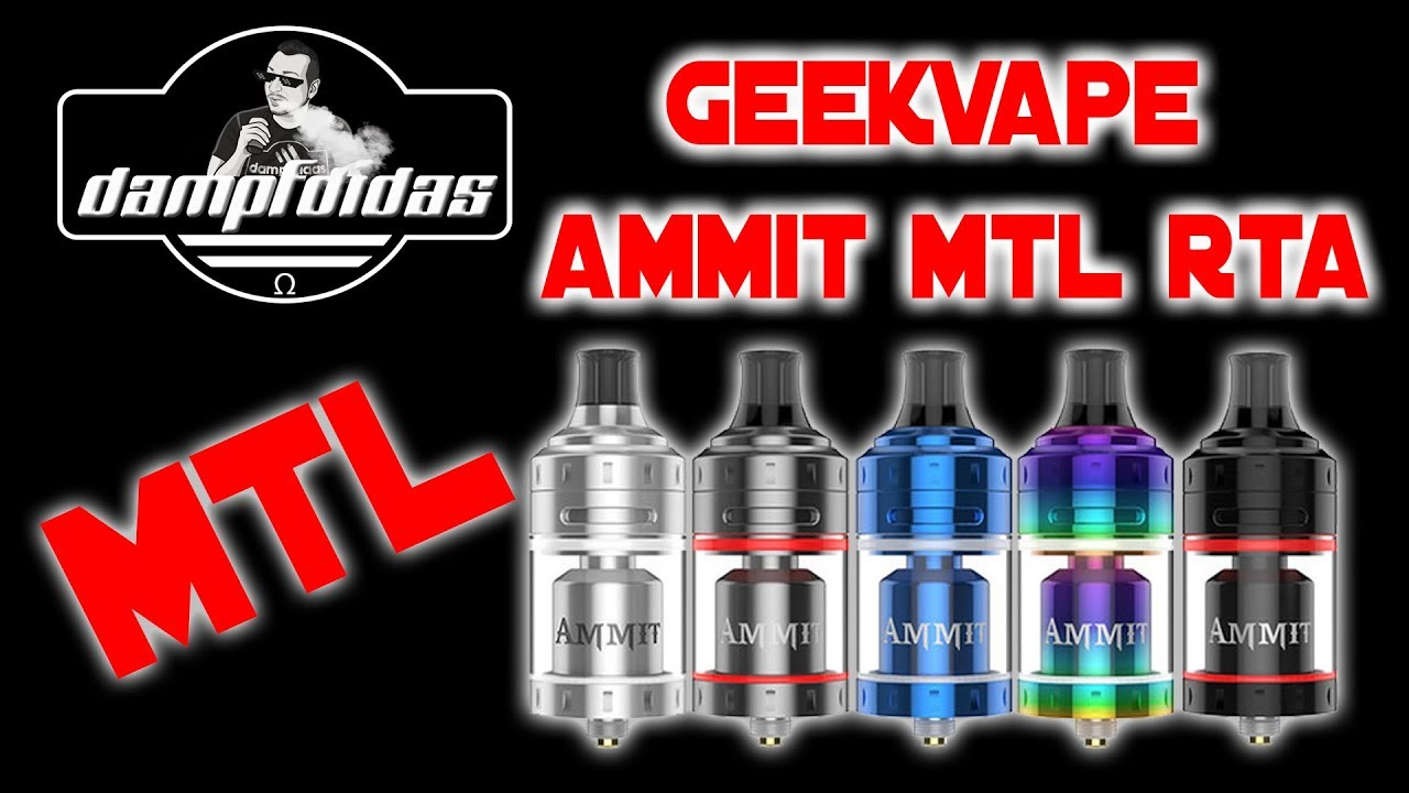 Geekvape MTL RTA - Top Airflow - Single Coil - Review