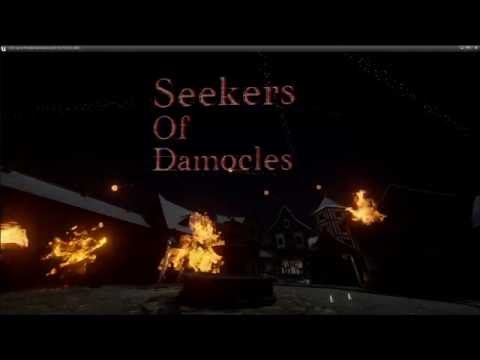 Trailer for Seekers Of Damocles, VR Sword Fighting Game