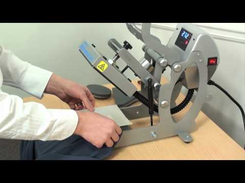 clothing label printing system demonstration - YouTube