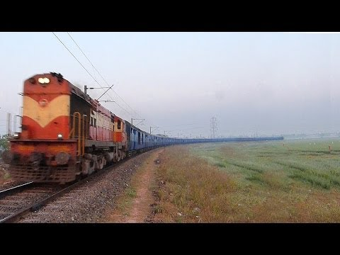 THE ONLY CONVENTIONAL AC EXPRESS TRAIN Indian Railways COCANADA