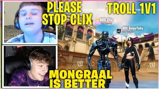 Download lagu CLIX Leaves BENJYFISHY CONFUSED After Asking The MOST *SUS* Question In 1v1 Wager! (Fortnite)