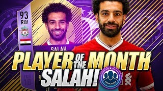 93 PLAYER OF THE MONTH SALAH!