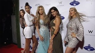 """Cast of E!'s """"Second Wives Club"""" Premiere Party Red Carpet"""