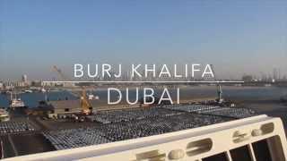 Burj Khalifa Dubai. Tallest Building in the World