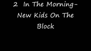 NKOTB- 2 In The Morning with download and lyrics