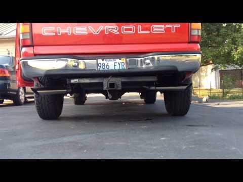 99 Silverado 4.3L Flowmaster Super 44 Series