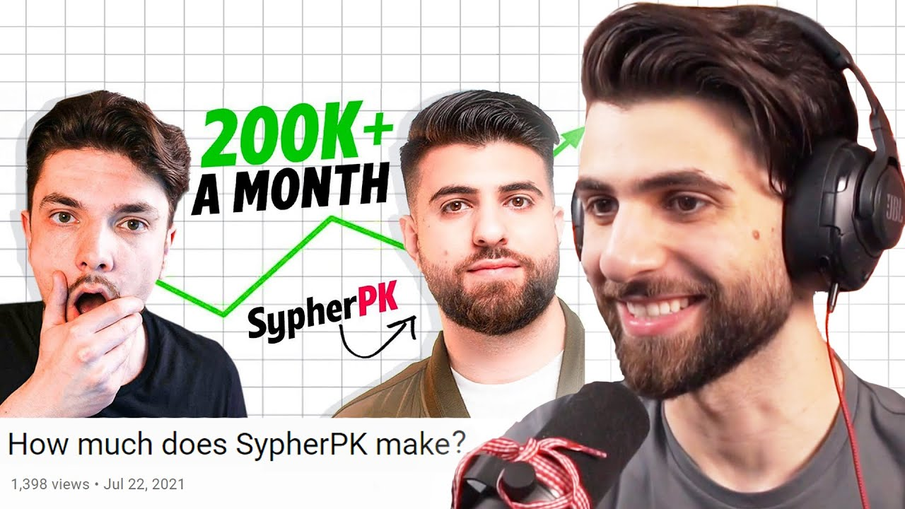 """Reacting to """"How Much Does SypherPK Make Per Month?"""""""