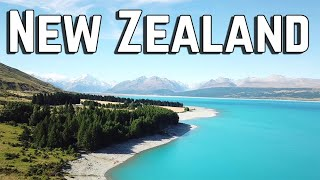 Travel drone video 4K - Besos from New Zealand