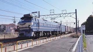 【EH500】東北線貨物列車   蓮田(附近)通過⑦【EF66】