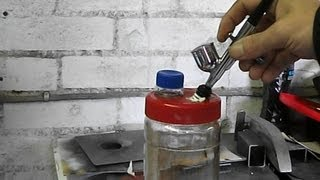 Airbrush tips - How to make an airbrush cleaning station diy