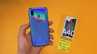 Samsung Galaxy A40 Unboxing - A Compact BEST BUY!