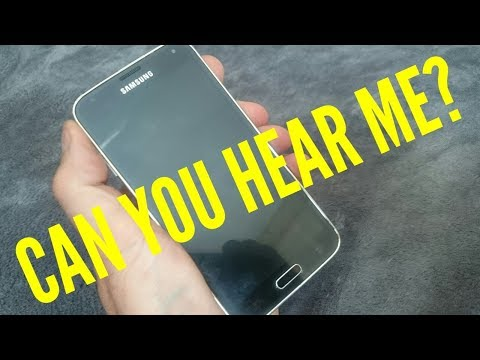 How To Fix A Samsung Galaxy S5 Sound / Microphone Problem | Android / Smartphones Easy Fix