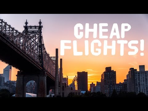 CHEAP FLIGHTS! 5 tricks to get INSANELY cheap tickets!