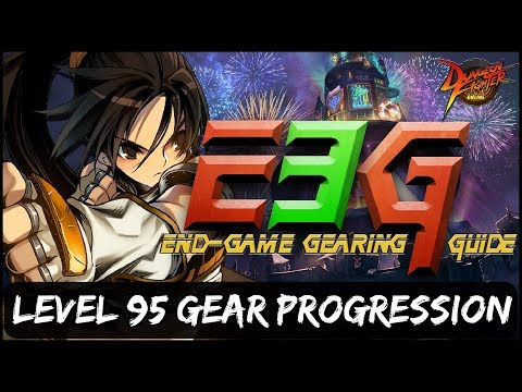 Dungeon Fighter Online - [E3G] - Level 95 Gear Progression: What Gear Should I Farm?