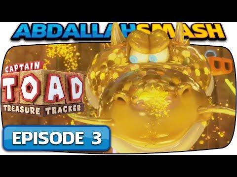 Captain Toad: Treasure Tracker [Nintendo Switch] - 100% Walkthrough Episode 3 - Part 2!  🔴LIVE!