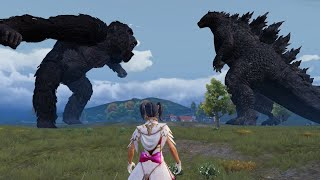 Godzilla vs. Kong in PUBG MOBILE