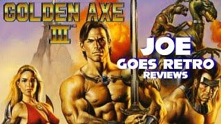 Golden Axe III (Genesis) Review - Joe Goes Retro