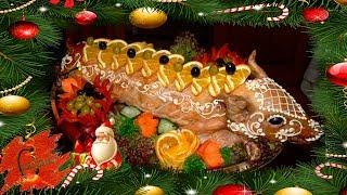видео Горячие блюда на Новый Год