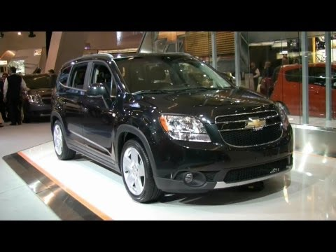 2012 Chevrolet Orlando LTZ Exterior and Interior at 2012 Montreal Auto Show