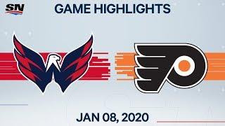 NHL Highlights   Capitals vs Flyers – Jan. 8, 2020