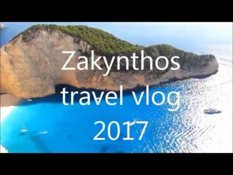 Zakynthos travel vlog 2017