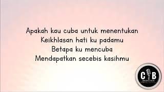 Sufian Suhaimi - dimatamu (lirik)