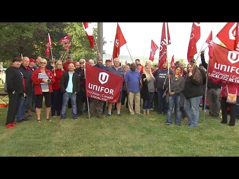 Northstar Aerospace facility in Milton taken over by union representing its workers