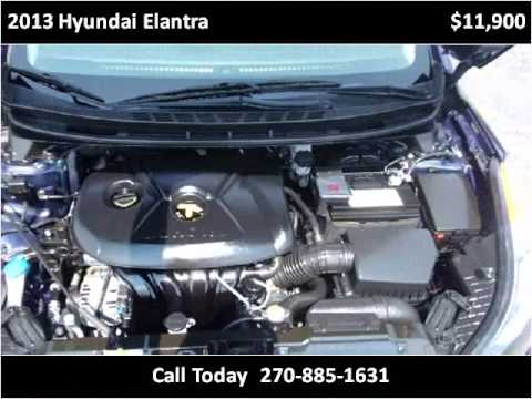 2013 hyundai elantra used cars hopkinsville ky youtube. Black Bedroom Furniture Sets. Home Design Ideas
