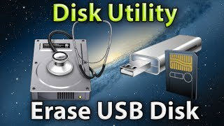 How to Erase Disk in Mac OS X Disk Utility