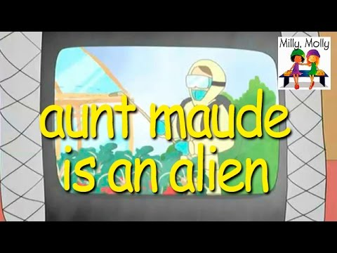 Milly Molly | Aunt Maude Is an Alien | S2E9 - YouTube