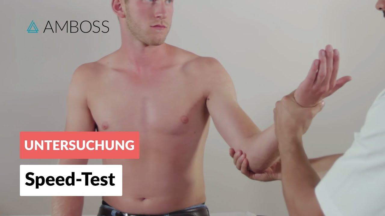 Speed-Test - Orthopädie - Untersuchung der Schulter (lange