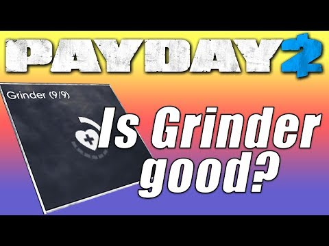 Grinder Build Payday 2 (One Down build)