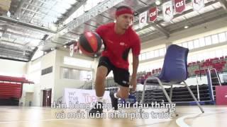 [SSA SPORTS] Hướng dẫn 3 kỹ thuật dẫn bóng cùng cầu thủ David Arnold của đội Saigon Heat
