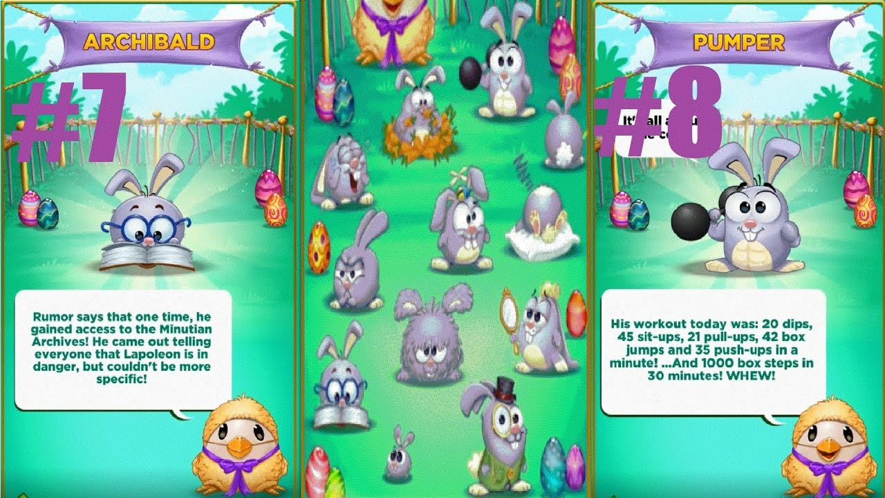 Best Fiends Egg Hunt 2019 Best Fiends S2 E3   hunting for bunny hints # 7   8 ( 12 HINTS
