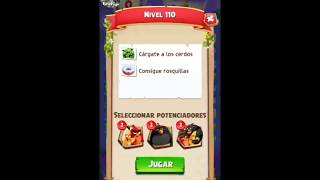 Angry birds match level 110