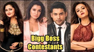 Bigg Boss Season 13 contestants list, Names & Their Profession