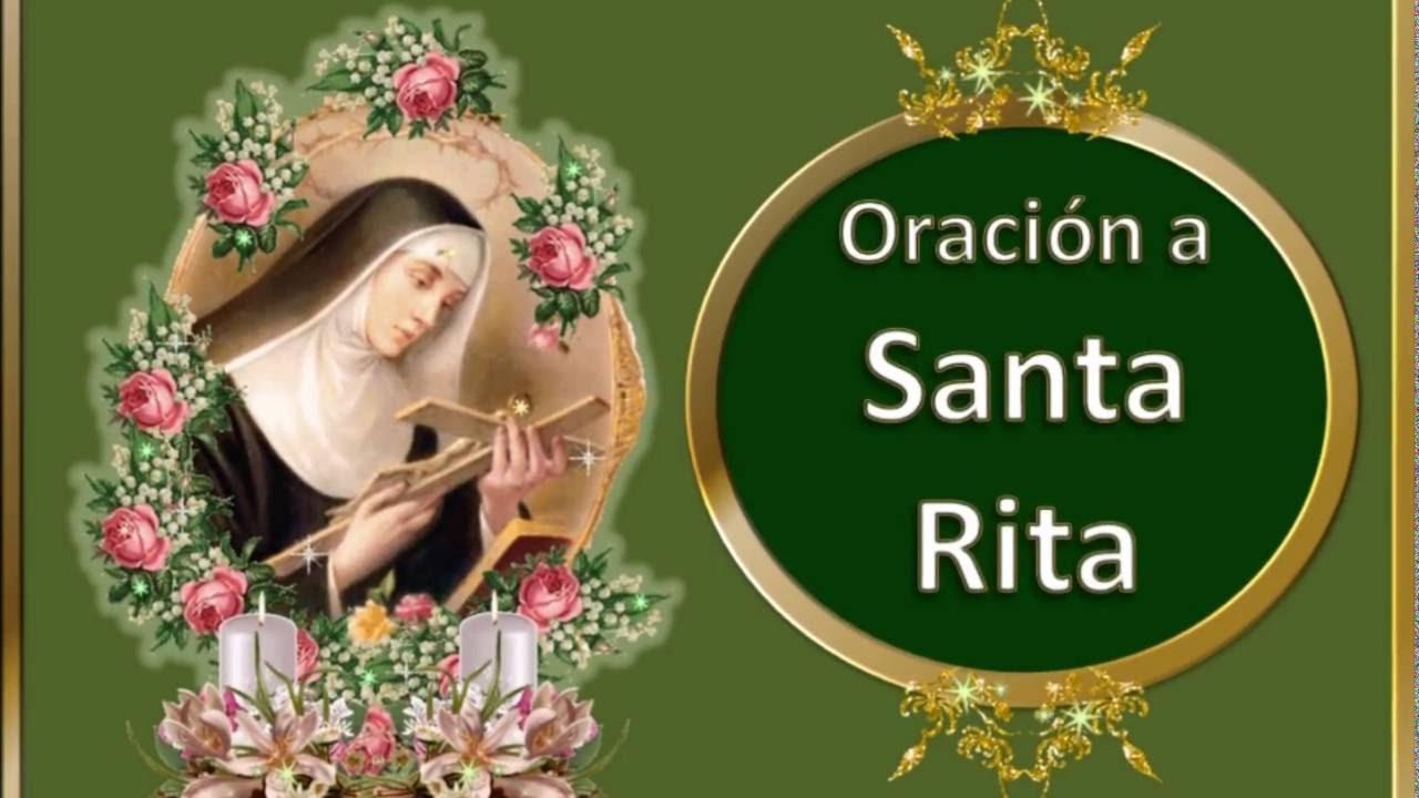 Santa Rita Oración Para Los Casos Desesperados Y