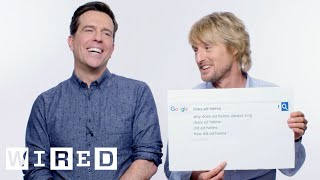 Download Owen Wilson & Ed Helms Answer the Web's Most Searched Questions | WIRED Mp3 and Videos