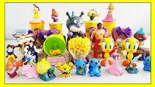 Funny Smiley Emoticons Videos For Kids - SMILEY FACES with Surprise Toys Disney Lilo and Stitch