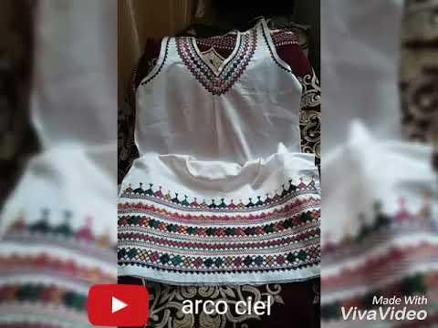 Quelque modèle de robe kabyle broderie a la mains ♓♓♓
