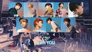 【認聲中字】Stray Kids - I am YOU (Color Coded Lyrics Han/Cht)