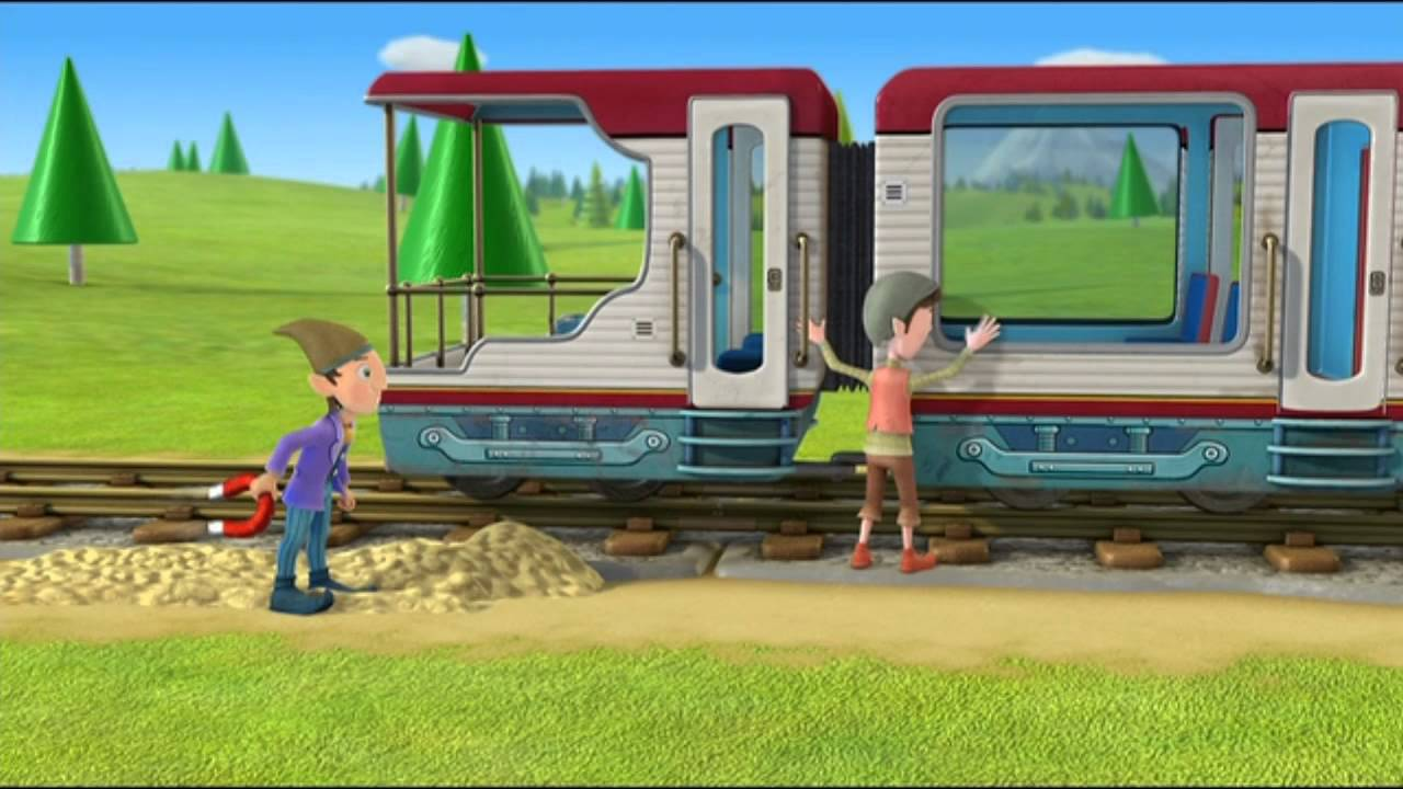 Oui oui le train rapide de miniville youtube - Oui oui et le train ...