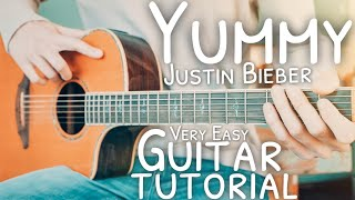 Yummy by justin bieber guitar tutorial // lesson for beginners!- grab a free capo! - https://thegroovyguitardude.com/products/acoustic-el...