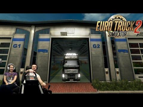 Видео Евро трек симулятор онлайн