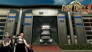 Веселая дорога на Брюссель Euro Truck Simulator 2